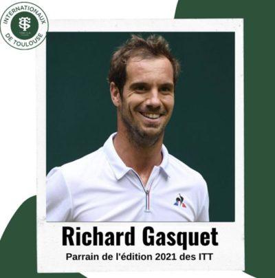Richard Gasquet, parrain des ITT 2021 !